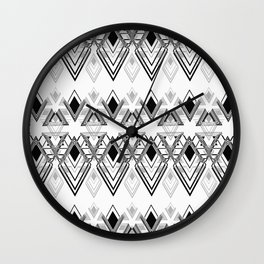 geometric pattern 3 Wall Clock