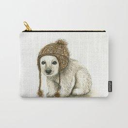 Polar Bear Cub Carry-All Pouch