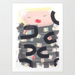 Be a doll - Vindi Vindaloo Design Art Print