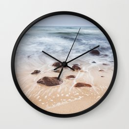 By the Shore - Landscape and Nature Photography Wall Clock