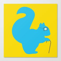 The Blind Squirrel Canvas Print