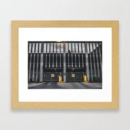 Parking. Framed Art Print