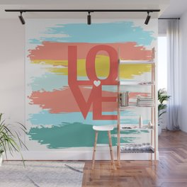 love abstract background Wall Mural