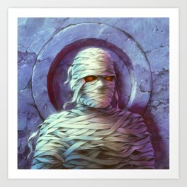 The Curse of the Mummy's Tomb Art Print