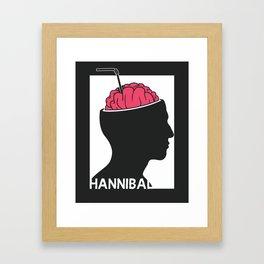 Michelin Starred Cannibal Framed Art Print