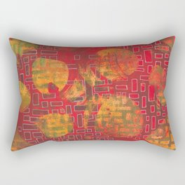 Building/Breaking Rectangular Pillow