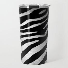 Zebra rug decor Travel Mug