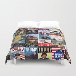 Donald Trump Books Duvet Cover