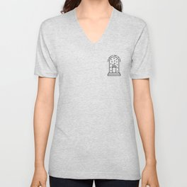 Beauty and the chai Unisex V-Neck