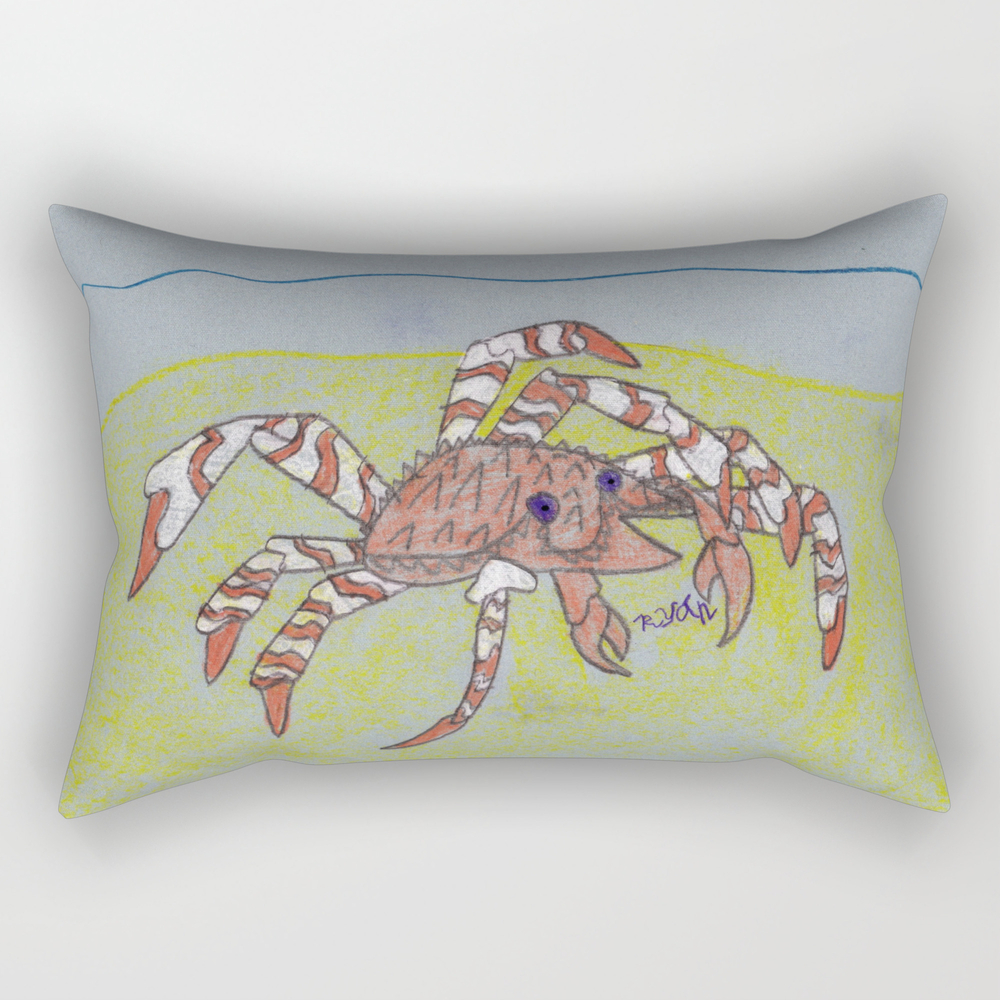 Spider Crab Rectangular Pillow RPW8490487
