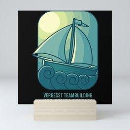 TEAM BUILDING SAILING SAILING CREW Gift Sailor Mini Art Print
