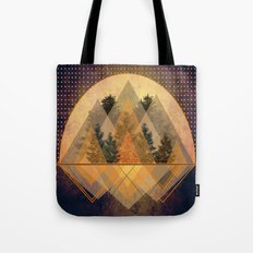 try again tree-angles mountains Tote Bag