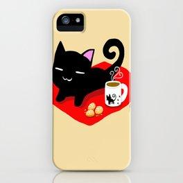 Jiji Tea Time iPhone Case