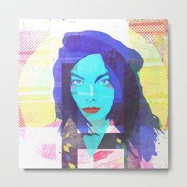 The fuc.... Björk #2 Metal Print