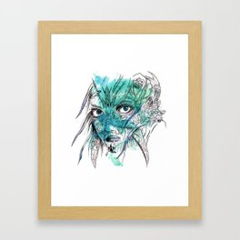 Beetle Born Framed Art Print