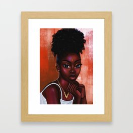 Cocoanut Oil x Hot cheetos Framed Art Print