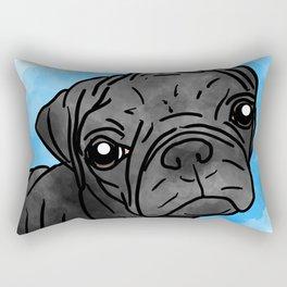 Pug Legend Rectangular Pillow