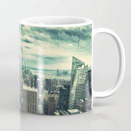 new york city panoramic view skyline Coffee Mug