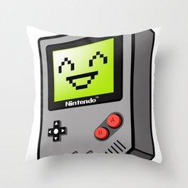 Game Boy Throw Pillow