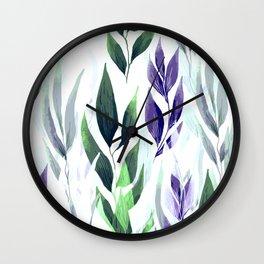 Leafage #01 Wall Clock