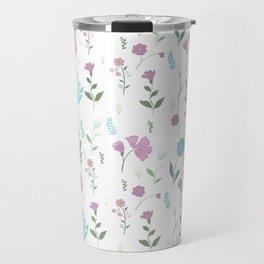 Tulum Floral 3 Travel Mug