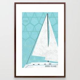 Rhode Island Framed Art Print