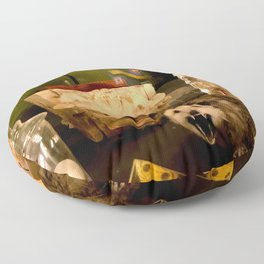 Curious Beasts Floor Pillow