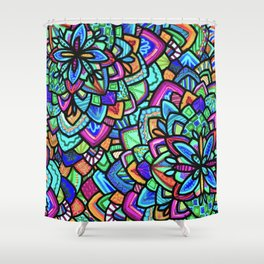 Foral Shower Curtain