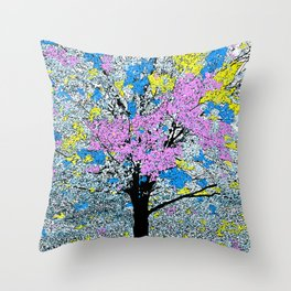 TREE SO PRETTY Throw Pillow