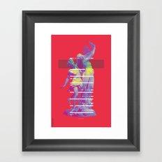 INFINITE LAUREL Framed Art Print