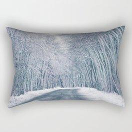 DRIVE - WAY - SNOW - PHOTOGRAPHY Rectangular Pillow
