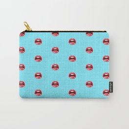 SEXY LIPS ((arctic)) Carry-All Pouch