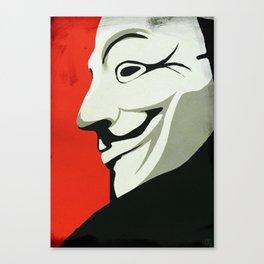 Fawkes Canvas Print