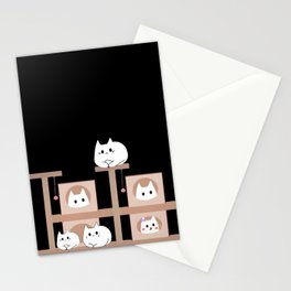 cats 232 Stationery Cards