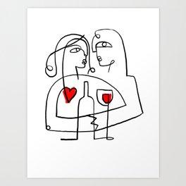 Forever one Art Print