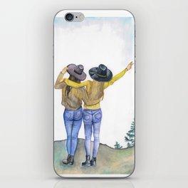 Girlfriends iPhone Skin