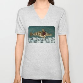 The Ice Fish Cometh Unisex V-Neck