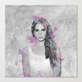 Del Rey Canvas Print