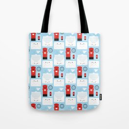 Happy Mail - Kawaii Post Tote Bag