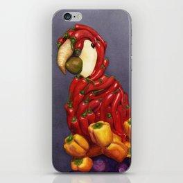 Pepper Parrot iPhone Skin
