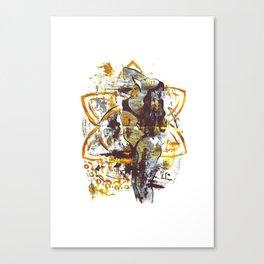 Golden goddess I Canvas Print