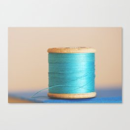 c is for cyan Canvas Print