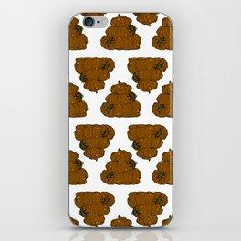 Poop & Flies iPhone Skin