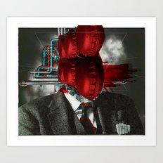 The Sur Real Man 2V2 Art Print