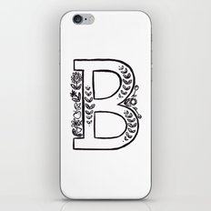 B is for iPhone & iPod Skin