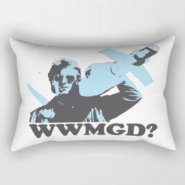 What would MacGyver Do? Rectangular Pillow