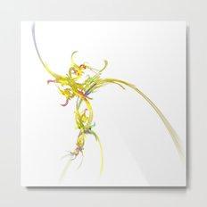 Spiritual Flower Metal Print