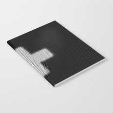 Halftone Plus Black Notebook