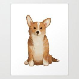 a good boy Art Print