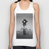 poetry Tank Tops featuring Poetry by Fanni Budaházi